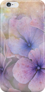 iPhone Case  Hydrangea by © Kira Bodensted