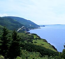 Cabot Trail 2 by Peggy Berger