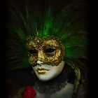 iPhone cover - Venetian mask by Luisa Fumi
