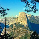 Half Dome Profile - Yosemite by Tamara Valjean