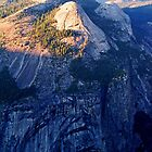 North Dome At Sunset - Yosemite by Tamara Valjean