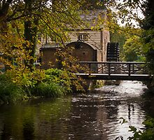 Waterwheel Snuff Mill - Morden Hall, London.  by DonDavisUK