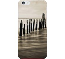 Wooden Poles - iPhone Case iPhone Case/Skin