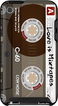 Love is Mixtapes - iphone 3G/3GS/4/4S by UrbanDog