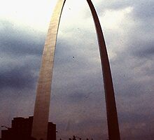 St. Louis Arch - (1982) by Dwaynep2010