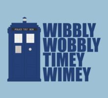 Doctor Who Timey Wimey by Adekin