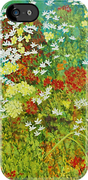 Floral Garden by Herb Dickinson