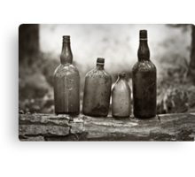 Cheers To The Past Canvas Print