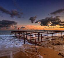 Bournemouth - Sunset by Pawel Tomaszewicz