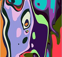 Abstract face 7 by ChrisButler