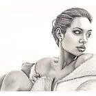 Angelina Jolie by Sandra Gale