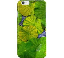 Waterlilies in High Dynamic Range case for iPhone 4/4S iPhone Case/Skin