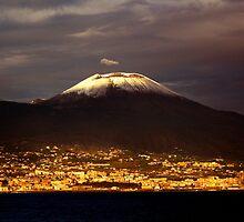 Amber Vesuvius by Tom Wachtel