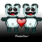 PANDA LOVE by peter chebatte
