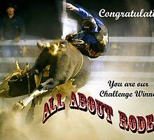 Banner, Challenge Winner, All About Rodeos by grannyshot