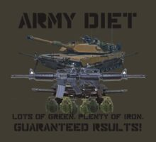 Army Diet T-Shirt