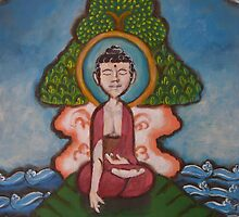 Under the Bodhi Tree 2011 by Jewel  Charsley