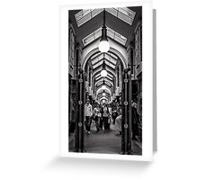 Burlington Arcade, London Greeting Card