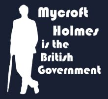 Mycroft Holmes, British Government (White) by Anglofile
