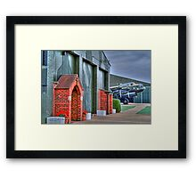 The Chapel RAF East Kirkby - HDR Framed Print