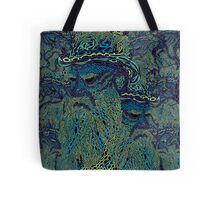 Tolstoy psychedelic wallpaper Tote Bag