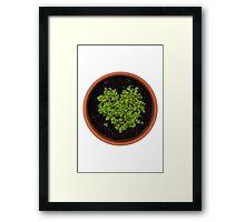 I Love Cress Framed Print