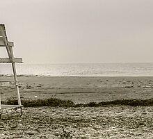 Empty Beach by Monte Morton