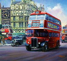 London Transport RT by Mike Jeffries