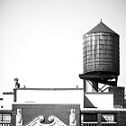 Water Tower by mikebone