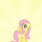 Fluttershy Joyous Iphone Case by carnivean