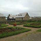 Fortress at Louisbourg by Peggy Berger