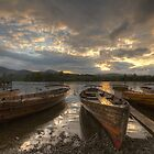 Moored up for the night by davediver