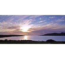 Evening at Trawenagh Bay Photographic Print