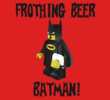 Frothing Beer Lego Batman by briggsy326