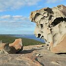 Remarkable Rocks on Kangaroo Island by jmccabephoto