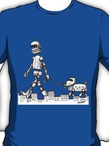 Walkin the Robot Dog T-Shirt