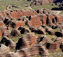 Bungle Bungles in Purnululu National Park by jmccabephoto