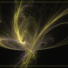 Butterfly by Fractal artist Sipo Liimatainen