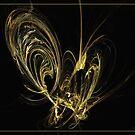 Papillon by Fractal artist Sipo Liimatainen