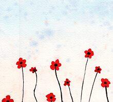 Poppy Field by klbailey
