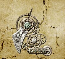 Steampunk iPhone 1  by Melanie Moor