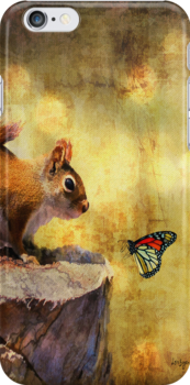 Woodland Wonder - iPhone Case by Lois  Bryan