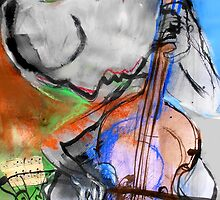 he played cello by Loui  Jover