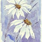 The two little Daisies by Maree  Clarkson