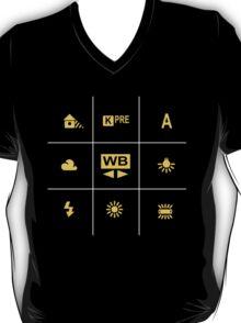 Camera White Balance Tic Tac T-Shirt