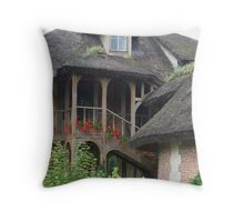 Queen's Hamlet, Versailles VIII Throw Pillow