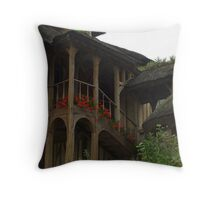 Queen's Hamlet, Versailles X Throw Pillow