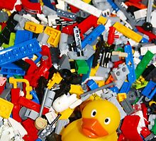 Duckscovering Lego: iPhone Case by Sammy Nuttall