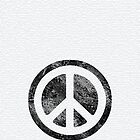 Peace Symbol-Dissd by Rainy