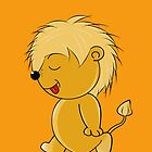 Lion Baby by Rainy